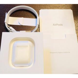 Apple - 美品 Apple AirPods 第2世代 MV7N2J/A 使用期間 1週間