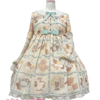 Angelic Pretty - Cream Cookie Collectionワンピース*アイボリー