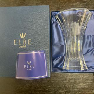 ボヘミア クリスタル(BOHEMIA Cristal)のELBE crystal ジュリア 花瓶(花瓶)
