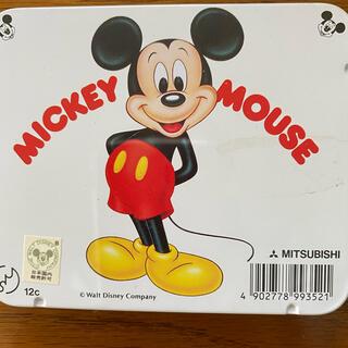 ディズニー(Disney)の三菱鉛筆 ミッキーマウス 色えんぴつ 8cmミニサイズ(色鉛筆)