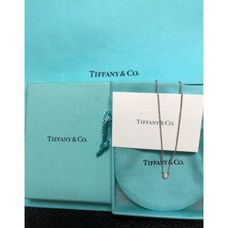 Tiffany & Co. - ティファニー新品ダイヤモンドネックレス