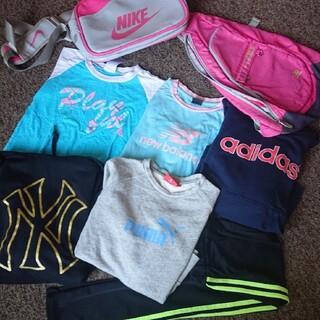 ナイキ(NIKE)のまとめ売り 150 160 スポーツ系 女の子 女子 服 バック(その他)