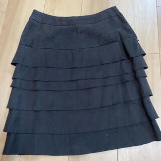 ボールジィ(Ballsey)のBALLSEY/フリルスカート/サイズ36(ひざ丈スカート)