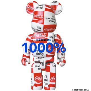 MEDICOM TOY - BE@RBRICK atmos × Coca-Cola 1000% チェッカー