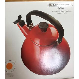 LE CREUSET - ルクルーゼ ケトル オレンジ  LE CREUSET 新品未使用 kettles