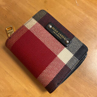 BURBERRY BLUE LABEL - ブルーレーベルクレストブリッジ 財布