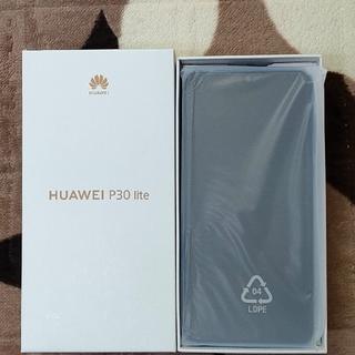 HUAWEI - huawei p30 lite  ブルー  国内版SIMフリー  美品!