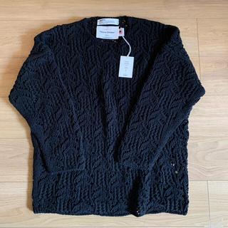 ジエダ(Jieda)のDAIRIKU 21ss flowerpatternhand knitting (ニット/セーター)