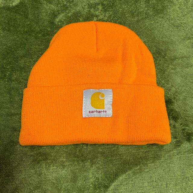 carhartt(カーハート)の送料無料!新品!カーハートニット帽 メンズの帽子(ニット帽/ビーニー)の商品写真
