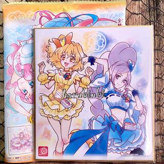 バンダイ(BANDAI)のキュアパイン&キュアベリー  プリキュア 色紙ART4 ノーマル 色紙アート4(印刷物)