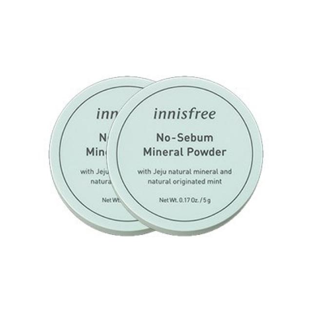 Innisfree(イニスフリー)のイニスフリー ノーセバム ミネラルパウダー 2個 コスメ/美容のベースメイク/化粧品(フェイスパウダー)の商品写真