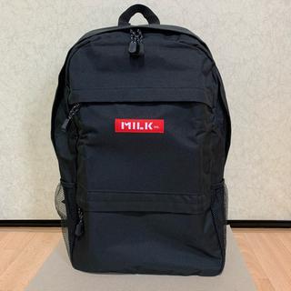 ミルクフェド(MILKFED.)の【新品】MILKFED. BIG Size REDロゴ 大容量バックパック(リュック/バックパック)