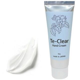 エタノール、椿油配合 Te‐Clearハンドクリーム 除菌