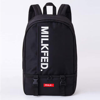 ミルクフェド(MILKFED.)の【新品】MILKFED. 男女兼用 BIG バックパック(リュック/バックパック)