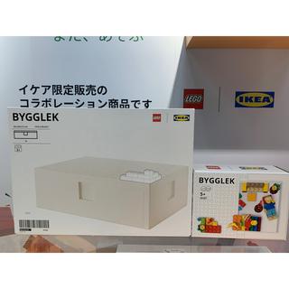 イケア(IKEA)の【ブロック&ボックスセット】BYGGLEK ビッグレク レゴ®ブロック&ボックス(積み木/ブロック)