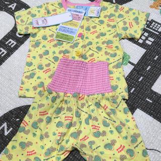 シマムラ(しまむら)のパジャマ 女の子 半袖 綿 80(パジャマ)
