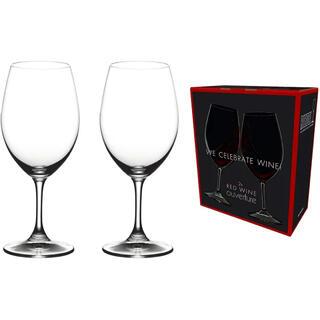 リーデル(RIEDEL)の【正規品】RIEDEL オヴァチュア レッドワイン 350ml  2脚セット(グラス/カップ)