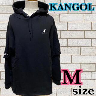 カンゴール(KANGOL)の新品タグ付き☆カンゴール ビッグパーカー M(パーカー)