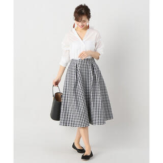 IENA - イエナ Pe/Coギンガムスカート