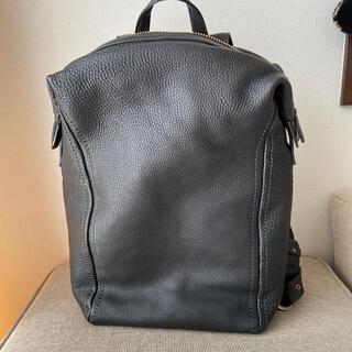 土屋鞄製造所 - 土屋鞄 ソフトミディアムバックパック ナイトブラック(限定色)
