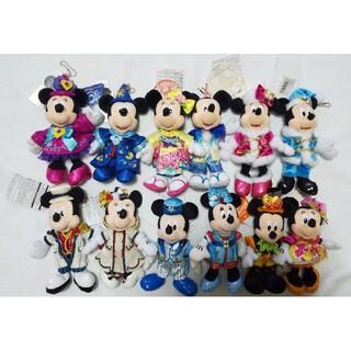 ミッキーマウス(ミッキーマウス)の【4/30までの特価】ミッキー&ミニーぬいばペア🌟12体セット🌟(キャラクターグッズ)