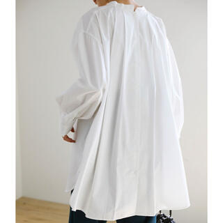 TODAYFUL - select moca スタンドカラーバックタックシャツ off
