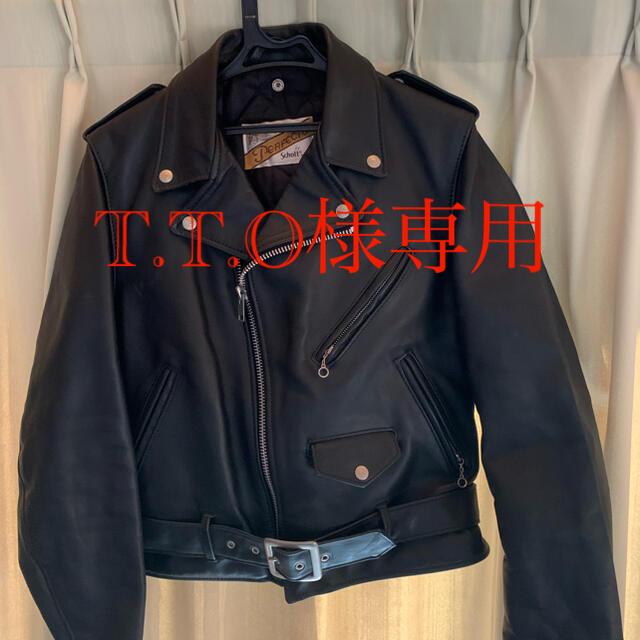 schott(ショット)のSchottショット ダブルライダースジャケット メンズのジャケット/アウター(ライダースジャケット)の商品写真
