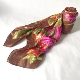 ロキエ(Lochie)の古着 ADRIENNE VITTADINI 花柄 スカーフ(バンダナ/スカーフ)