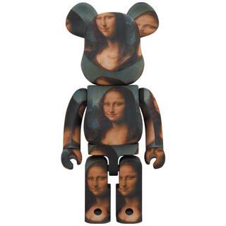 メディコムトイ(MEDICOM TOY)のBE@RBRICK LEONARD DE VINCI Mona Lisa(キャラクターグッズ)