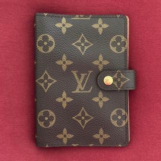 LOUIS VUITTON - ルイヴィトン モノグラム 手帳カバー