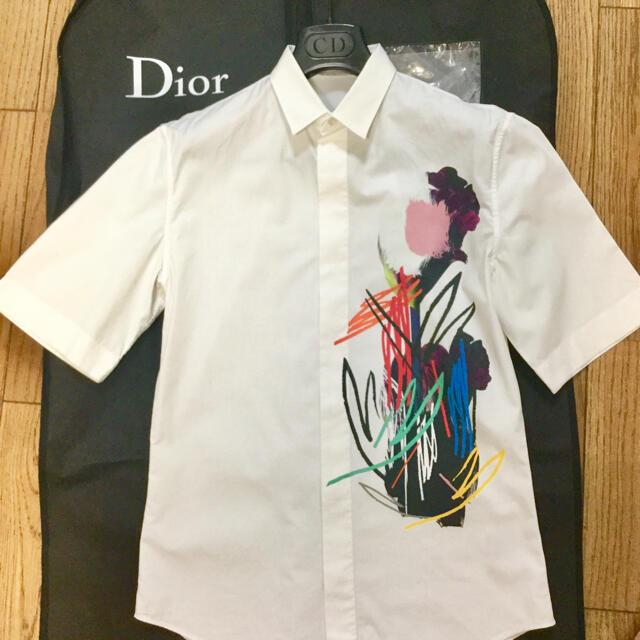 DIOR HOMME(ディオールオム)のDior homme 15ss フラワーペイント  メンズのトップス(シャツ)の商品写真