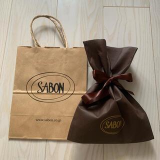 サボン(SABON)のサボン ラッピング 紙袋 ギフト(ショップ袋)