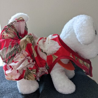 ハワイアンドレス 犬洋服
