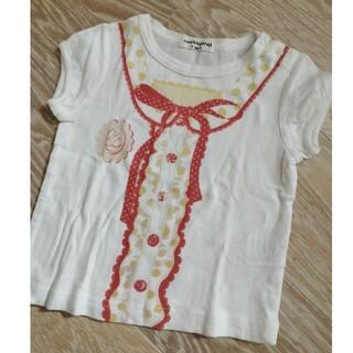 アンパサンド(ampersand)のアンパサンド だまし絵 Tシャツ 90(Tシャツ/カットソー)