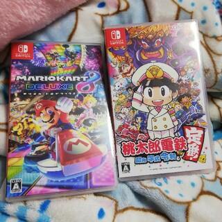 Nintendo Switch - Nintendo Switch マリオカート8DX 桃太郎電鉄 中古美品
