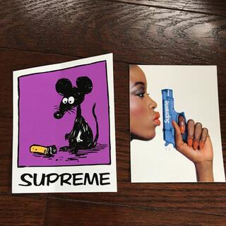 シュプリーム(Supreme)の【2枚セット】非売品ステッカーSupreme送料無料ボックスロゴ シュプリーム(その他)