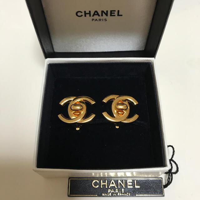 CHANEL(シャネル)のシャネル ヴィンテージ ターンロックイヤリング レディースのアクセサリー(イヤリング)の商品写真