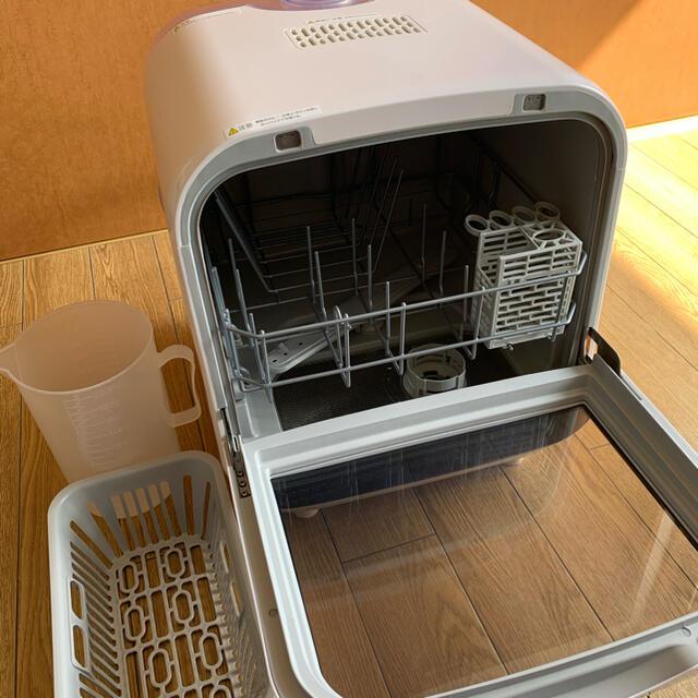 食器洗い乾燥機 Jaime(ジェイム)SDW-J5L ホワイト スマホ/家電/カメラの生活家電(食器洗い機/乾燥機)の商品写真