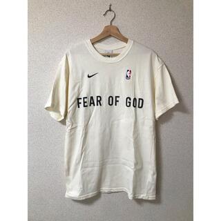 FEAR OF GOD - NIKE fear of god Tシャツ S アイボリー