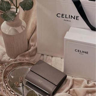 CEFINE - 【お値下げ中!】スモール トリフォールドウォレット / グレインドカーフスキン