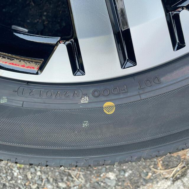 三菱(ミツビシ)のヨコハマタイヤ  自動車/バイクの自動車(タイヤ・ホイールセット)の商品写真