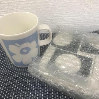 marimekko - [新品]マリメッコ 70周年記念限定 マグカップ プレート セット
