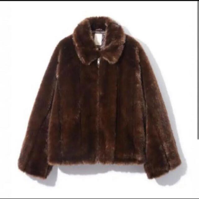 leinwande★ファーコート レディースのジャケット/アウター(毛皮/ファーコート)の商品写真