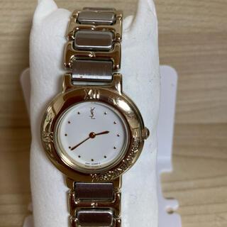 サンローラン(Saint Laurent)の【電池新品/清掃済】vintage イヴ・サンローラン クォーツ式腕時計(腕時計)