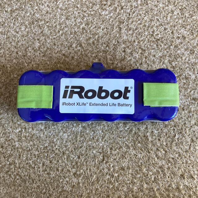 iRobot(アイロボット)のiRobot Roomba ルンバ バッテリー純正品 スマホ/家電/カメラのスマートフォン/携帯電話(バッテリー/充電器)の商品写真