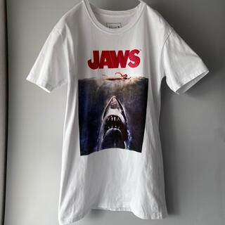 エージーバイアクアガール(AG by aquagirl)のスピルバーグ JAWS 映画tee シネマtee ロング丈(Tシャツ(半袖/袖なし))