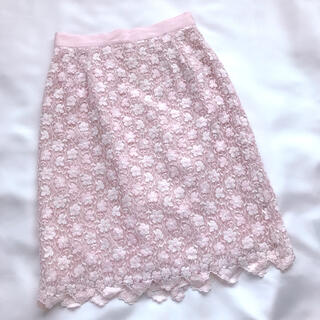 Debut de Fiore - 美品 デビュードフィオレ レース花柄スカート