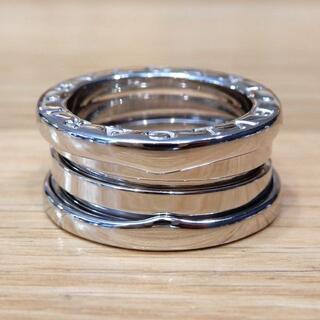 ブルガリ(BVLGARI)の新品同様 ブルガリ 研磨済み ビーゼロワン リング WG #48(リング(指輪))