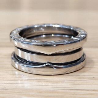 ブルガリ(BVLGARI)の新品同様 ブルガリ 現行 研磨済み ビーゼロワン リング WG #49(リング(指輪))
