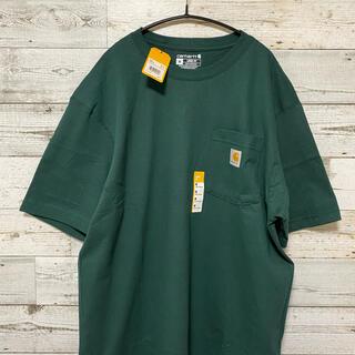 carhartt - 新品未使用 カーハート ハンターグリーン M ポケットTシャツ
